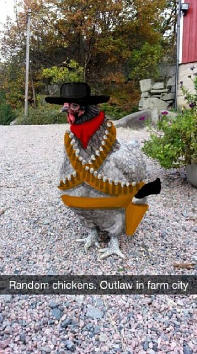Outlaw Chicken