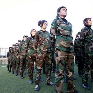 'Feminists' of Code Pink pale against Kurdish women fighting for freedom