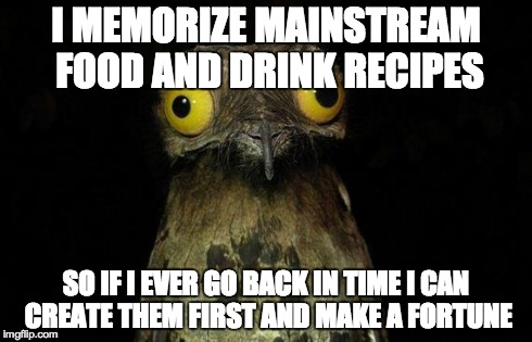I rarely cook, so it's basically useless knowledge.
