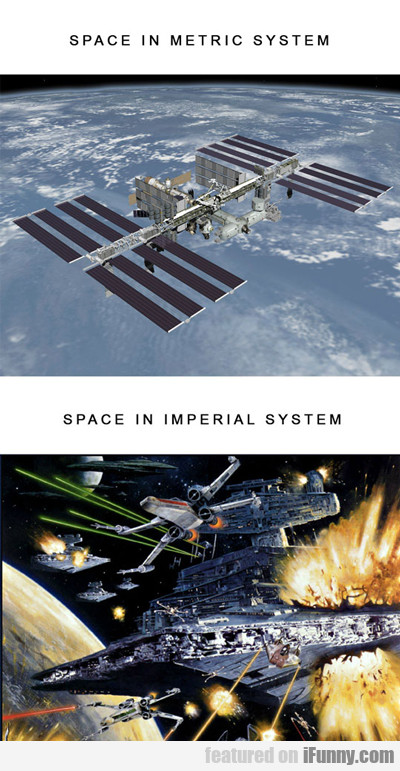 Space In Metric System...