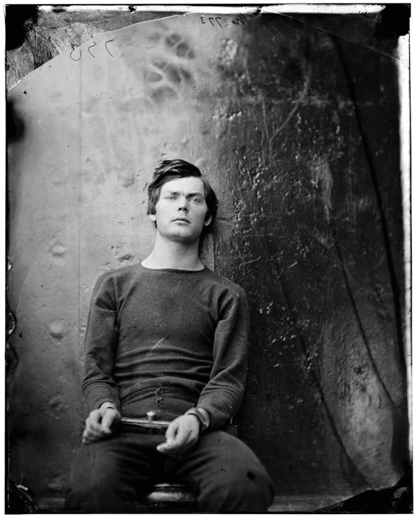 Lincoln assassination co-conspirator Lewis Payne was being held in federal custody prior to his execution in 1865. As Lincoln was being killed at the Ford Theater, Payne, an Alabama native and Confederate veteran, entered the bedroom of Secretary of State William H. Seward and began to attack him with a large knife.