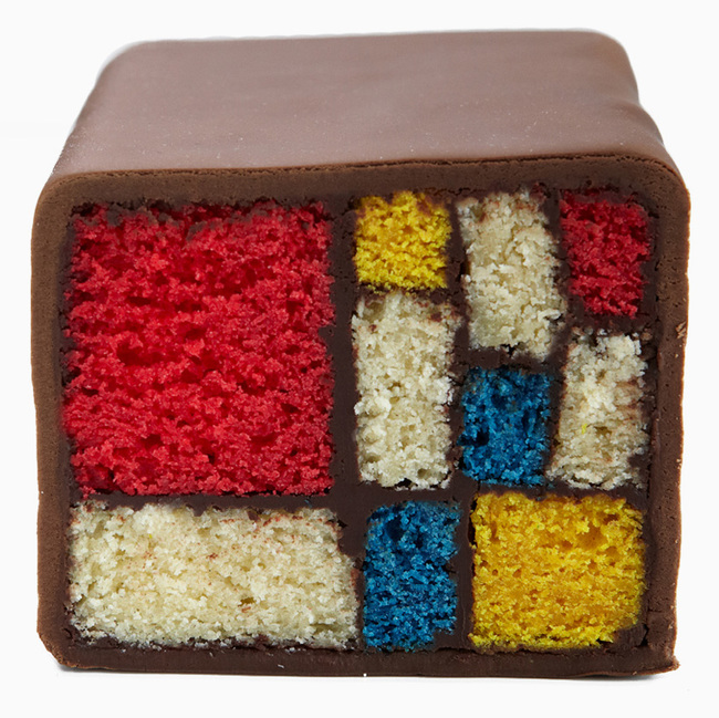 6. Mondrian Cake