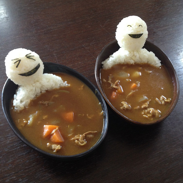 13. Soup Rice Bath