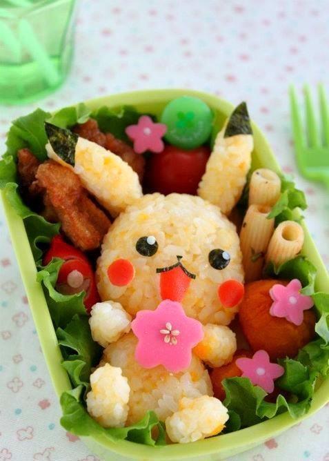 21. Pikachu sushi