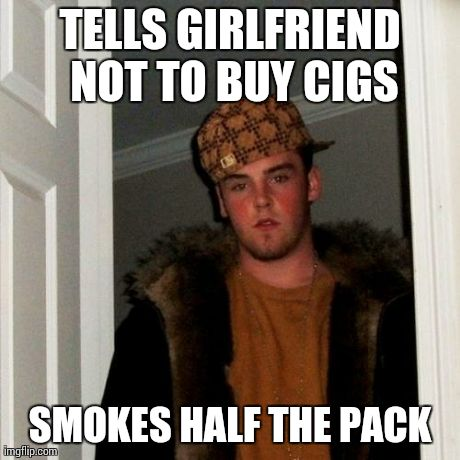 When my girlfriend wants to buy cigarettes….
