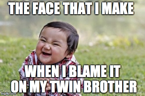 twins problems !!!