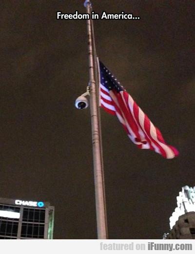Freedom In America...