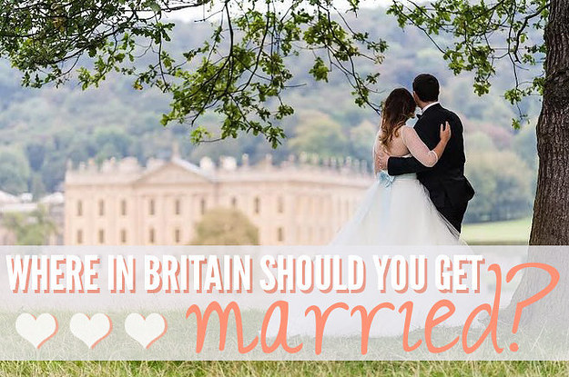 Where In Britain Should You Get Married?
