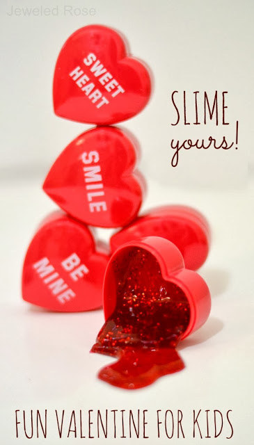 Melting heart slime.
