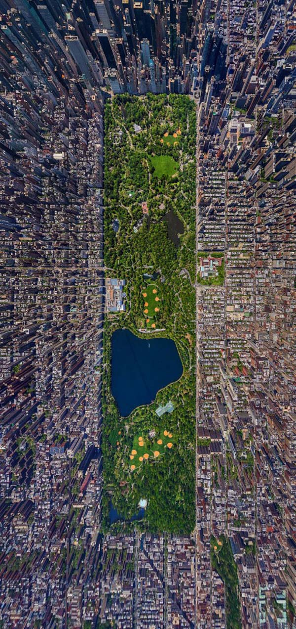 3.) Central Park, New York City (USA)