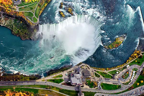 Seeing These Popular Places From Above Is Almost Surreal. #6 Seriously Shocked Me.