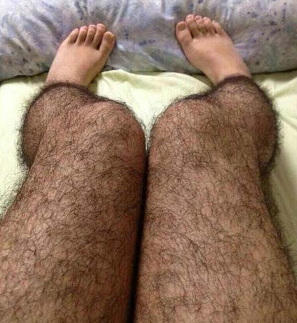 "9.) Hairy tights women can wear that will deter ""perverts."""