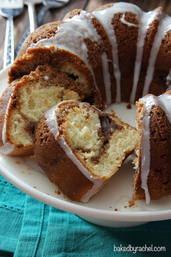 Cinnamon Streusel Coffe Bundt Cake